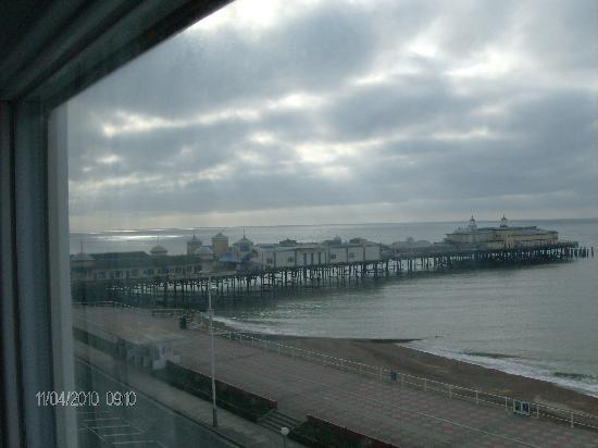 Seaspray Bed & Breakfast: Aussicht aus unserem Fenster
