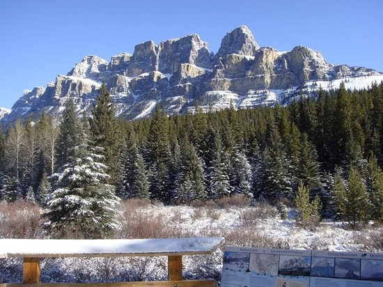 Canadian Rockies Van Tours - Canadian Co-ordinate Systems - One Day tour: キャッスル山