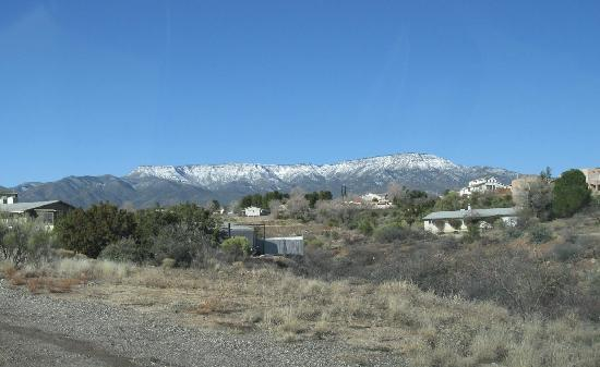Desert Rose Bed and Breakfast : Next day. Clear and sunny!