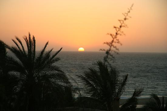 Los Colibris Casitas: one of many beautiful sunsets