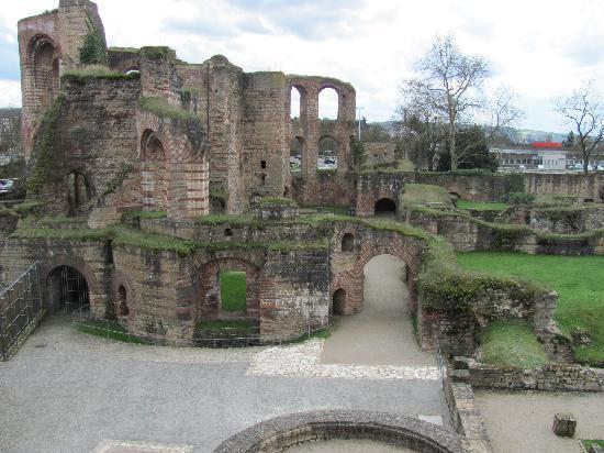 Trier, Deutschland: Roman baths