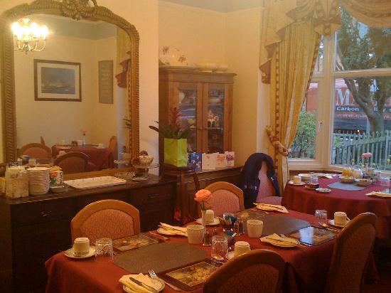 Broadlands Guest House: Breakfast room