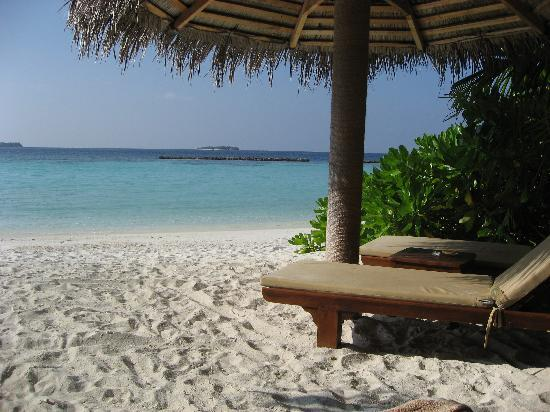 Baros Maldives: From the beach