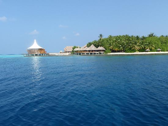 Baros Maldives : From the dive boat