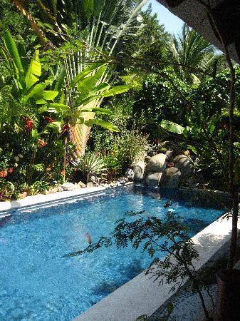 Casa Candiles Inn: Poolside!