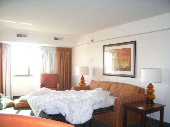 Washington Suites Alexandria: Living Room