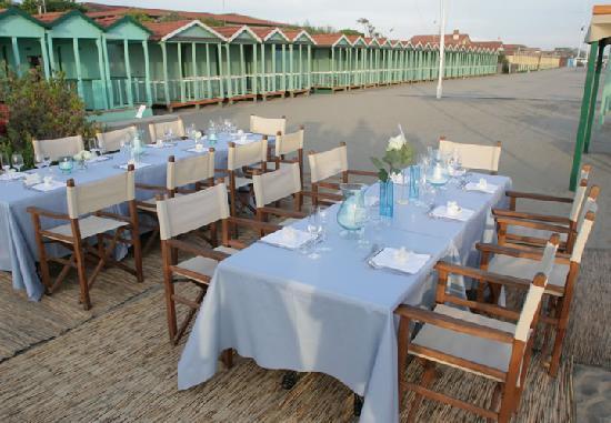 Cene romantiche versilia foto di ristorante del bagno for Bagno forte dei marmi