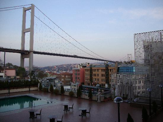 Ortakoy Princess Hotel: In the shadow of the mighty road bridge