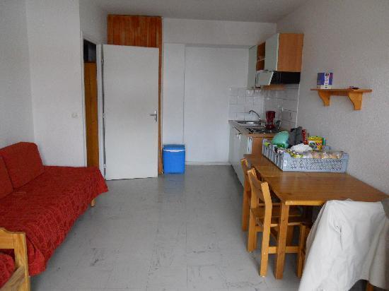 Residence Le Surf des Neiges : Cuisine - Appartement 4/5 personnes