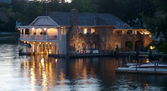 Boathouse Bed and Breakfast A Lake Castle Estate on Lake George: Romantic Boathouse Bed and Breakfast on Lake George