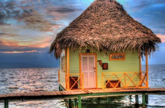Punta Caracol Acqua Lodge: Love Shack