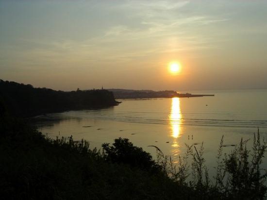 Un soir d'été, vue des Plomarc'h