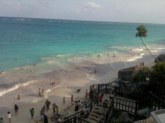 OceanProKite : Vista desde la parte más alta de las ruinas