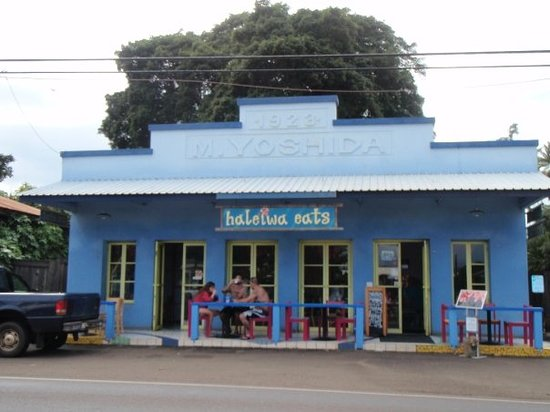 Haleiwa Eats Incorporated : So we took the bus to Haleiwa instead.
