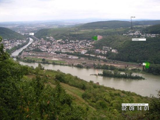 Bingen am Rhein, Tyskland: Bingerbrück