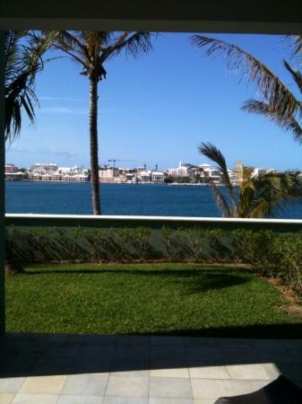 Hamilton, Bermuda: view from our patio