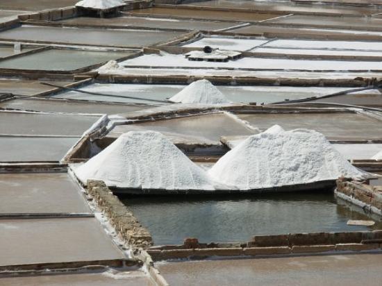 Rio Maior, Portugal: Extração de Sal