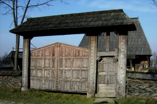 Sighetu Marmatiei, Rumania: Muzeul Satului Maramuresean