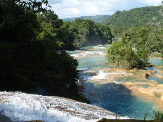 San Cristobal de las Casas, Mexico: Cascadas de Agua Azul