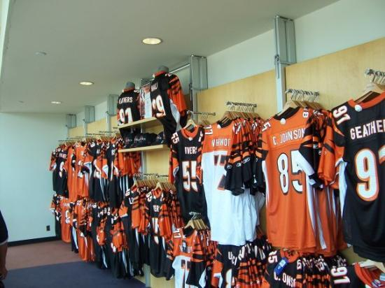 New Cincinnati Bengals Gift Shop. Picture of Cincinnati, Ohio