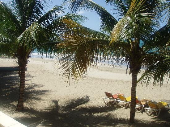 Beach Palace Cabarete: Blick zum Strand