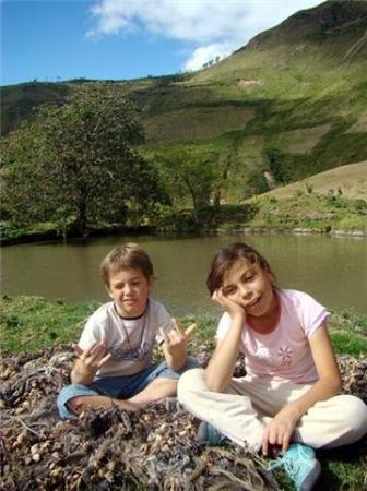 Ibarra, Équateur : Tablon, Yahuarcocha.