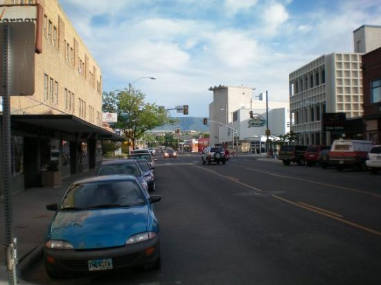 downtown Casper, Wyoming (the other direction)