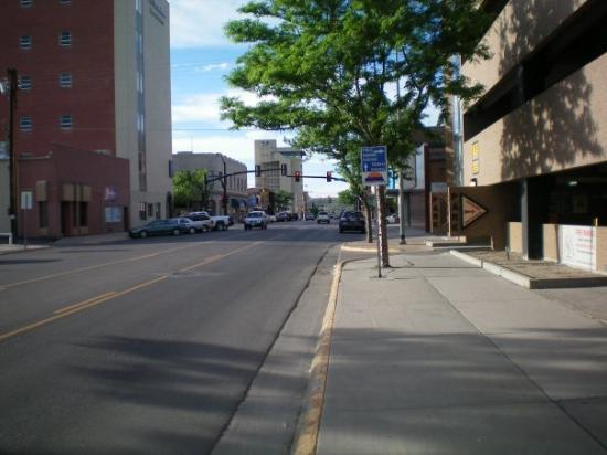 downtown Casper, Wyoming.