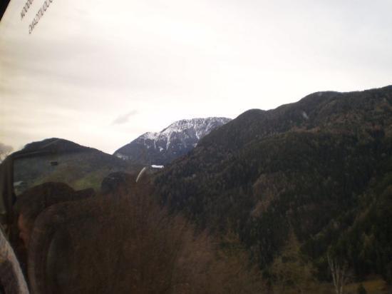 Selva di Val Gardena, Italia: ... maar witte toppen