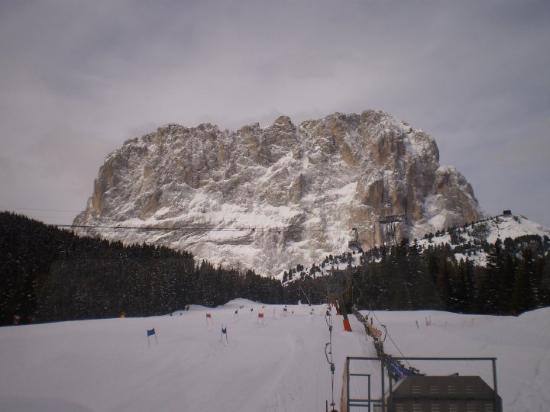 Selva di Val Gardena, Italy: hierse daarse, witte skipistes