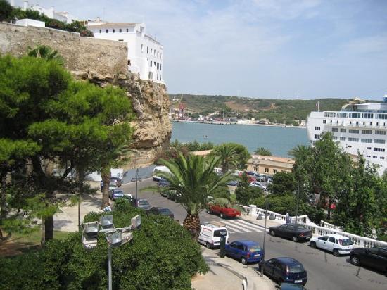 Mahon Port: vista del puerto