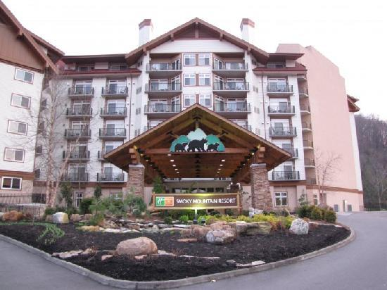 Holiday Inn Club Vacations Gatlinburg-Smoky Mountain: the exterior