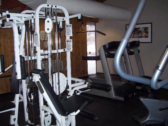 Holiday Inn Burlington: gym