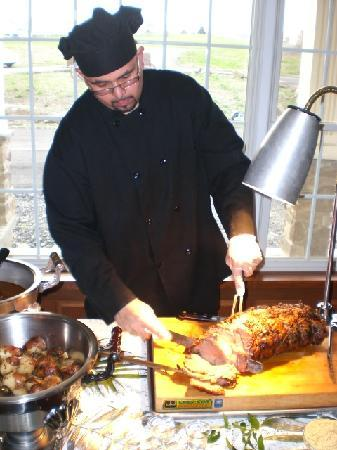 Chelsea Sun Inn: Our Carving Station - delicious!