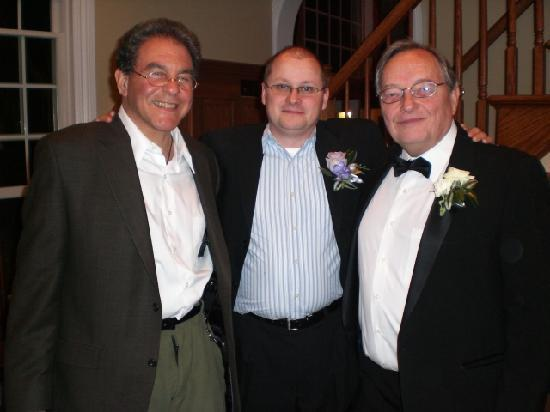 Chelsea Sun Inn : Ted Howard with my Husband and his son