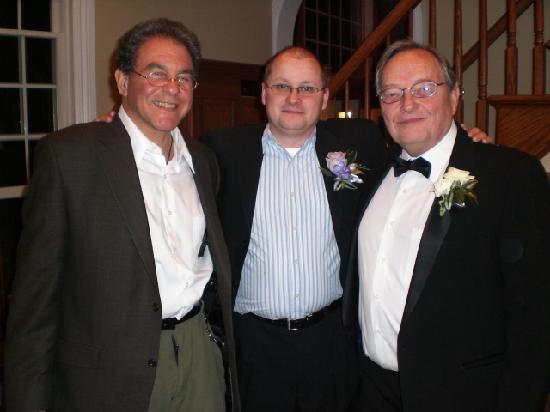 تشيلسي صن إن: Ted Howard with my Husband and his son