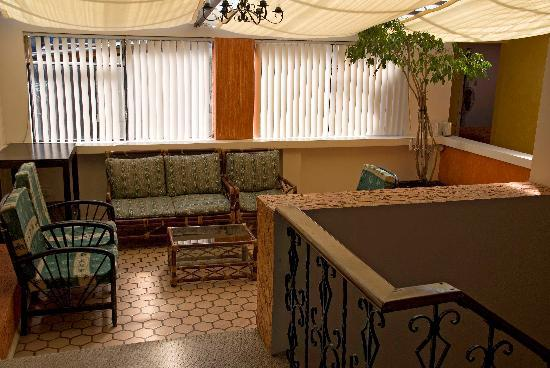 The Imperial Hostal: Living Area