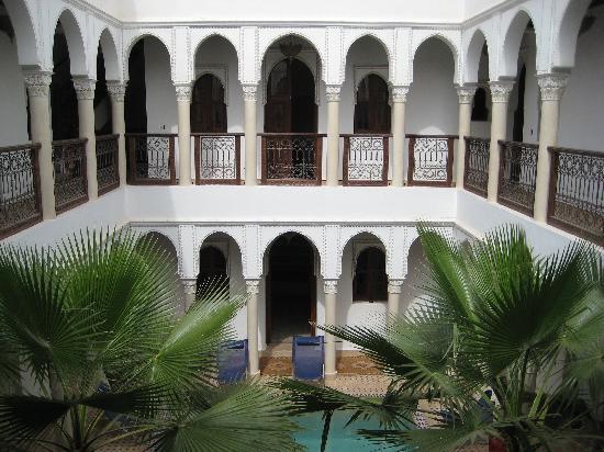 Le jardin d'Abdou: il patio