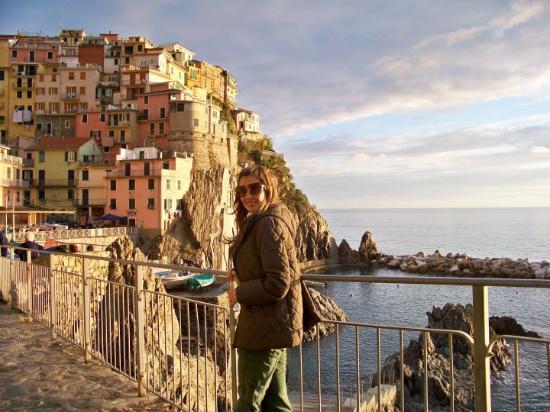 La Spezia, Italië: Hoje me deu saudades de Manarola...
