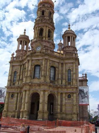 Aguascalientes, Mexiko: Templo de San Antonio, actualmente en renovación.