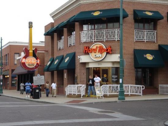 Hard Rock Cafe  Beale St Memphis Tn