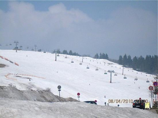 Ski resort in Black Forest ( Feldberg), Germany