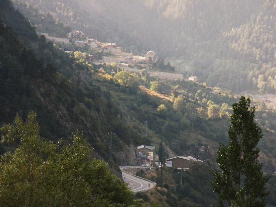 Hotel L'Ermita: Utsikt från rummet.