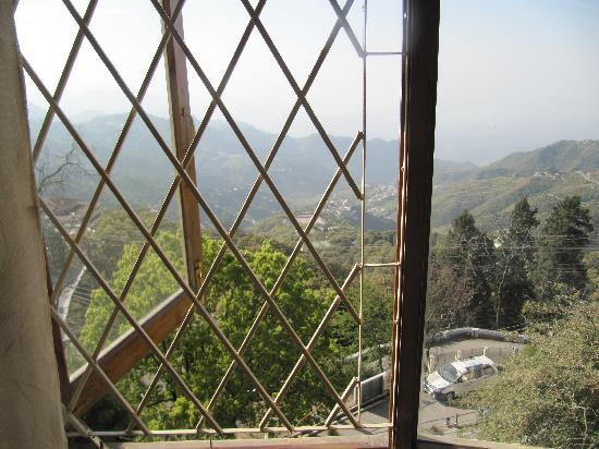Hotel Padmini Nivas: View from the room, Himalayas