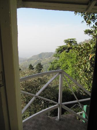 Hotel Padmini Nivas: View from the porch of the room