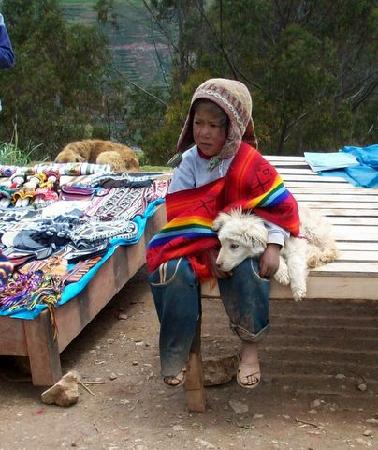 Peru: LITTLE GUY & HIS DOG