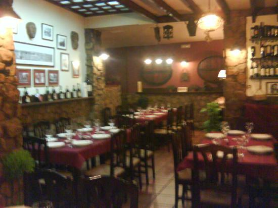 La Zaranda: interior