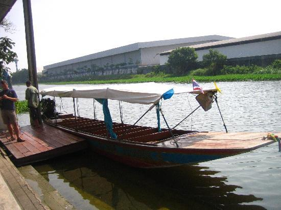 Bang Phli, Thailand: owner's Brother's boat