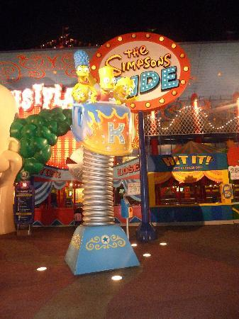 Orlando, FL: Universal Studios - The Simpson Ride