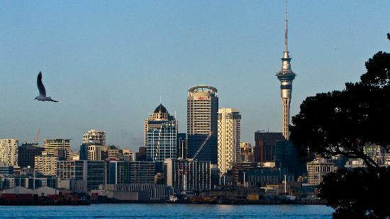 Admirals Landing Bed & Breakfast: Auckland from Admirals Landing